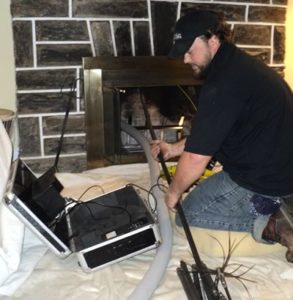 Annual chimney inspections include video inspection.