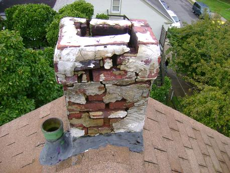 leaking chimney