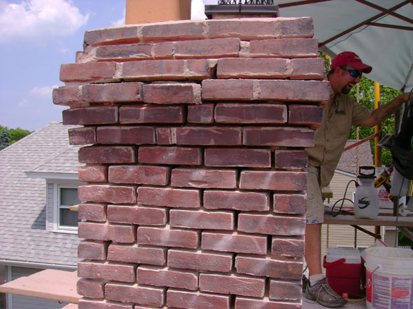 Repointing A Chimney : Brick repointing stone for chimneys