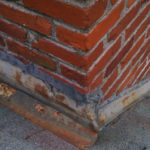 flashing needs to be repaired on chimney at roofline