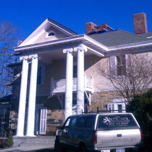 historic chimney and masonry restoration