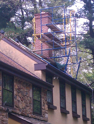 West Chester Pa Chimney Sweep And Historic Chimney Repair Company