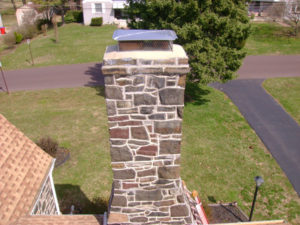a historic chimney that looks like new!