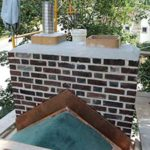 Coatsville Chimney Rebuild Example