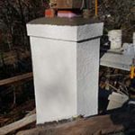 Downingtown PA Chimney Rebuild Example