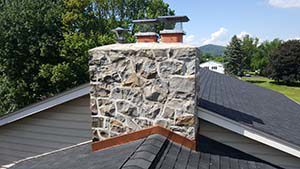 PA Chimney Flashing Example