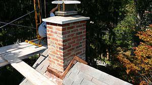 Ambler PA Chimney Rebuild Gallery