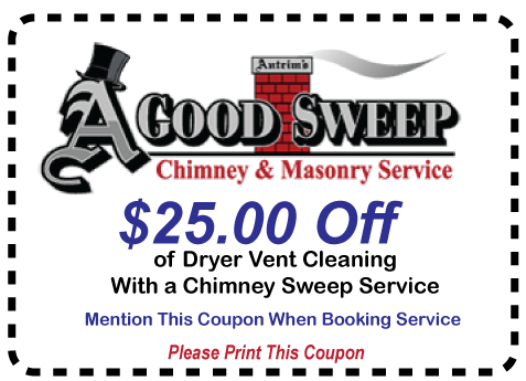 Chimney Sweep and Dryer Vent Cleaning Coupon